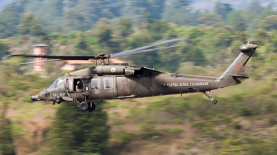 FAC4137 - Sikorsky MH-60L �ngel - Colombia - Air Force