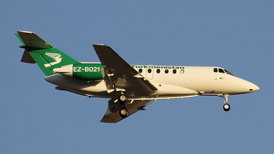 EZ-B021 - British Aerospace BAe 125-1000B - Turkmenistan - Government