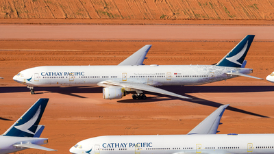 A picture of BHNK - Boeing 777367 - Cathay Pacific - © Yohane