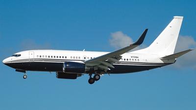 N721BA - Boeing 737-7JR(BBJ) - Private