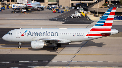 A picture of N767UW - Airbus A319112 - American Airlines - © Alexander Owen