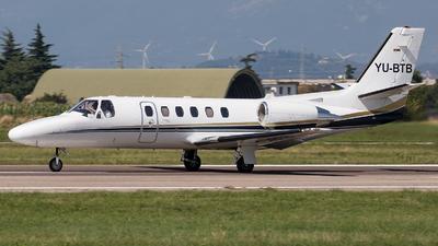YU-BTB - Cessna 550B Citation Bravo - Air Pink