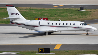 N375QS - Cessna 680 Citation Sovereign - NetJets Aviation