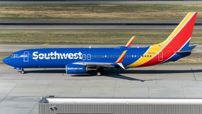 A picture of N8686A - Boeing 7378H4 - Southwest Airlines - © global_flyer1