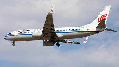 A picture of B6498 - Boeing 73789L - Air China - © Sun Wenyuan