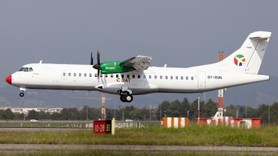 OY-RUN - ATR 72-212A(600) - Danish Air Transport (DAT)