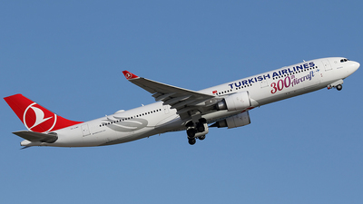 A picture of TCLNC - Airbus A330303 - Turkish Airlines - © Jorge Medina Mediavilla