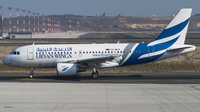 A picture of 5AWLB - Airbus A319112 - Libyan Wings - © Furkan Borakazi