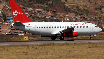 OB-1851-P - Boeing 737-230(Adv) - Peruvian Airlines