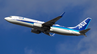 JA73AN - Boeing 737-881 - All Nippon Airways (ANA)