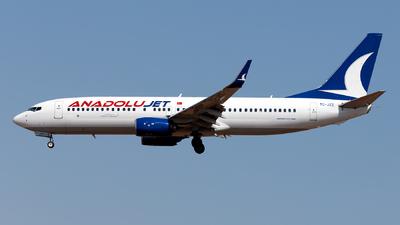 A picture of TCJZZ - Boeing 7378KV - Turkish Airlines - © Ömür Sadikoglu