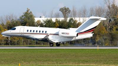 N803QS - Cessna Citation Longitude - NetJets Aviation