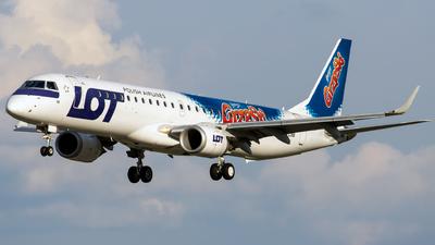 A picture of SPLNB - Embraer E195LR - LOT - © Grzesiek Krupa