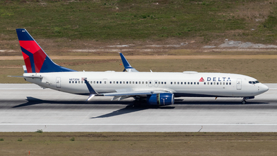 A picture of N873DN - Boeing 737932(ER) - Delta Air Lines - © Marcel Hohl
