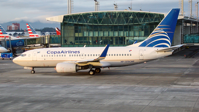 HP-1370CMP - Boeing 737-71Q - Copa Airlines