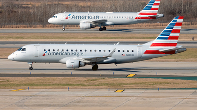 A picture of N121HQ - Embraer E175LR - American Airlines - © Yan777