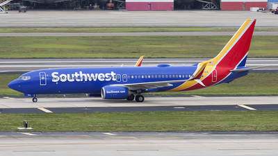 A picture of N8691A - Boeing 7378H4 - Southwest Airlines - © Bruce Leibowitz