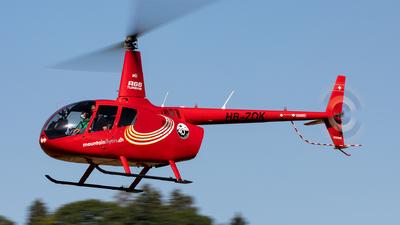 HB-ZOK - Robinson R66 Turbine - Mountain Flyers