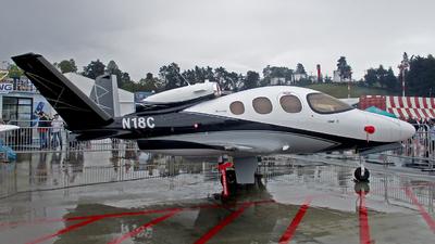 N18C - Cirrus Vision SF50 G2 Arrivee - Private