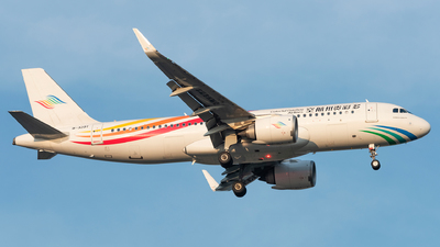 A picture of B320T - Airbus A320251N - Colorful GuiZhou Airlines - © xuhaoqing995