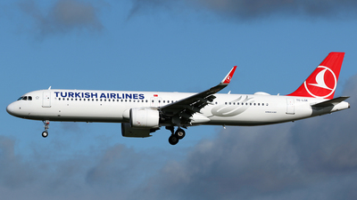 A picture of TCLSK - Airbus A321271NX - Turkish Airlines - © Terry Wade