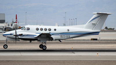 N654BA - Beechcraft 200C Super King Air - United States - US Air Force (USAF)