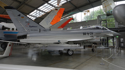 98-29 - Eurofighter Typhoon EF2000 - Germany - Air Force