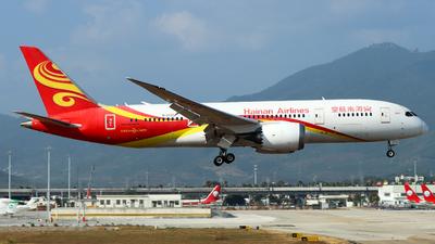 A picture of B2722 - Boeing 7878 Dreamliner - Hainan Airlines - © TAORUNWAY35
