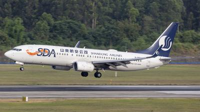 B-20EZ - Boeing 737-8JP - Shandong Airlines