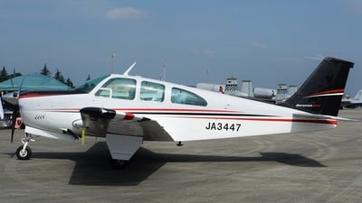 JA3447 - Beechcraft E33 Bonanza - Private