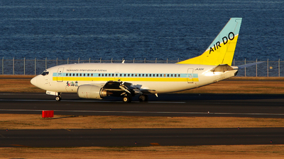 JA301K - Boeing 737-54K - Air Do (Hokkaido International Airlines)