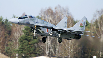 11 - Mikoyan-Gurevich MiG-29 Fulcrum - Belarus - Air Force