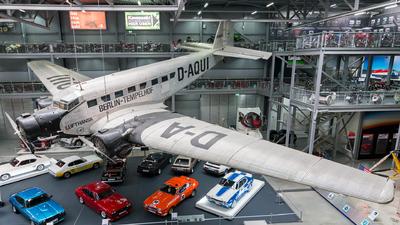 D-AQUI - Junkers Ju-52/3m - Lufthansa