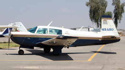 4X-ARO - Mooney M20J - Private
