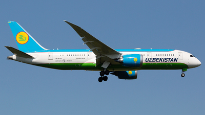 A picture of UK78705 - Boeing 7878 Dreamliner - Uzbekistan Airways - © Chris Pitchacaren