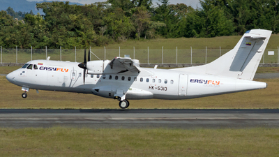 A picture of HK5313 - ATR 42600 - EasyFly - © Jorge Saenz