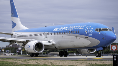 A picture of LVFVM - Boeing 7378SH - Aerolineas Argentinas - © Agustin LV-ASP