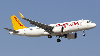 A picture of TCNCP - Airbus A320251N - Pegasus Airlines - © Bora Polater