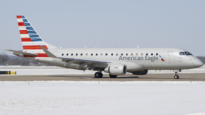 A picture of N291NN - Embraer E175LR - American Airlines - © Andrew Hutnyan