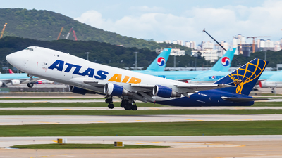 N412MC - Boeing 747-47U(F) - Atlas Air
