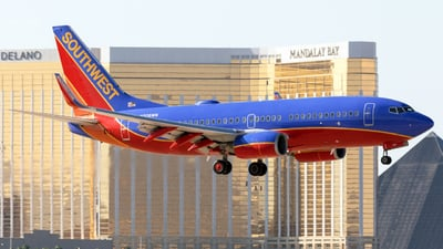 N206WN - Boeing 737-7H4 - Southwest Airlines