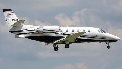 YU-PNK - Cessna 560XL Citation XLS Plus - Air Pink