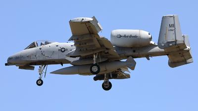 80-0262 - Fairchild A-10C Thunderbolt II - United States - US Air Force (USAF)