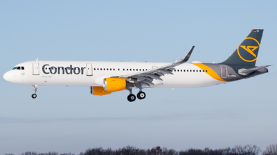 A picture of DATCB - Airbus A321211 - Condor - © RobertLN