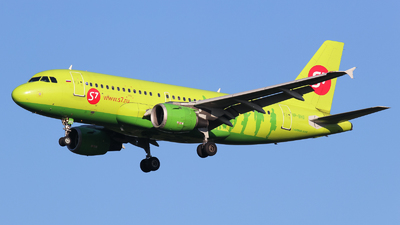 VP-BHG - Airbus A319-114 - S7 Airlines