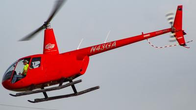A picture of N43GA - Robinson R44 Raven II - [10050] - © Juan Carlos Aponte
