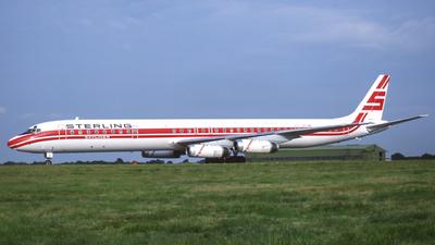 OY-SBL - Douglas DC-8-63 - Sterling Airways