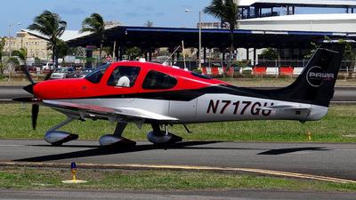 A picture of N717GU - Cirrus SR22T - [1058] - © toyo_69pr