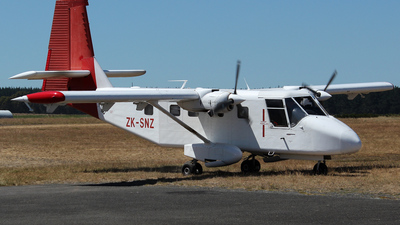 ZK-SNZ - GAF N22C Nomad - Private