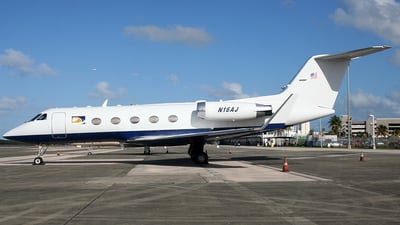 N16AJ - Gulfstream G-III - Private
